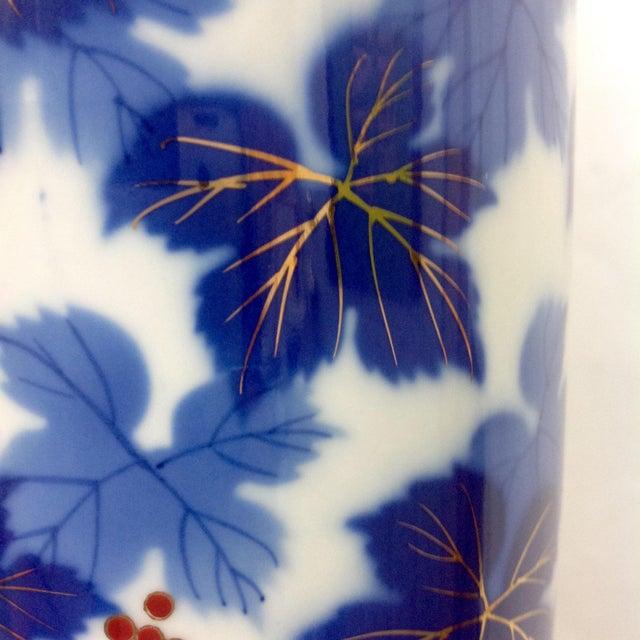 Mid-Century Japanese Porcelain Arita Vase - Image 5 of 7