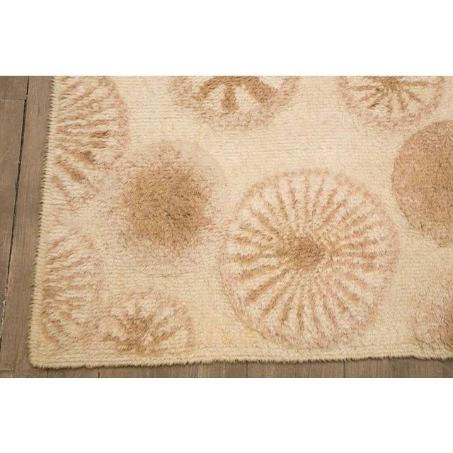 1970s Rare and Decorative Cogolin Wool Carpet, France, 1970 For Sale - Image 5 of 11