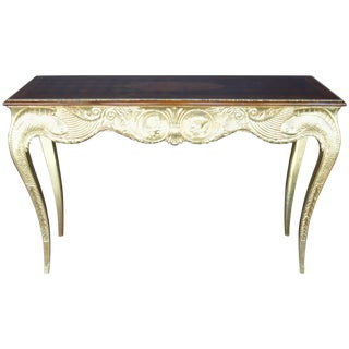 Early 20th Century Hand-Carved Console For Sale