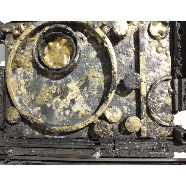 Bronze Wall Sculpture by James Bearden For Sale - Image 7 of 9