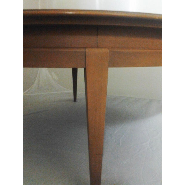Mid-Century Round Cherry Coffee Table **** Sold**** - Image 4 of 4
