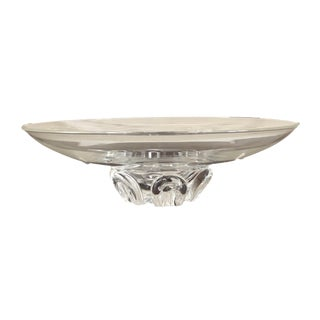 Steuben Signed Footed Console Bowl For Sale