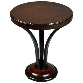 John Graz Imbuia Wood Center Table, Brazil, Circa 1930 For Sale