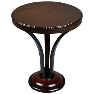 John Graz Imbuia Wood Center Table, Brazil, Circa 1930 For Sale