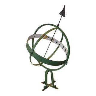 20th Century English Armillary Sphere For Sale