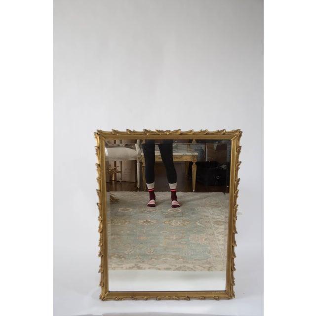 Antique Art Noveau Mirror - Image 2 of 9