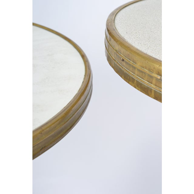 French Art Deco Bistro Tables - Pair - Image 9 of 10