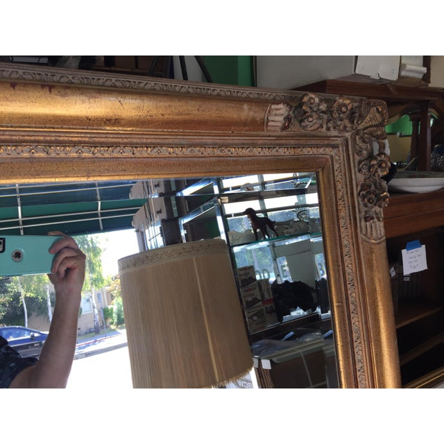 1960s Large Gold Mirror For Sale - Image 5 of 13