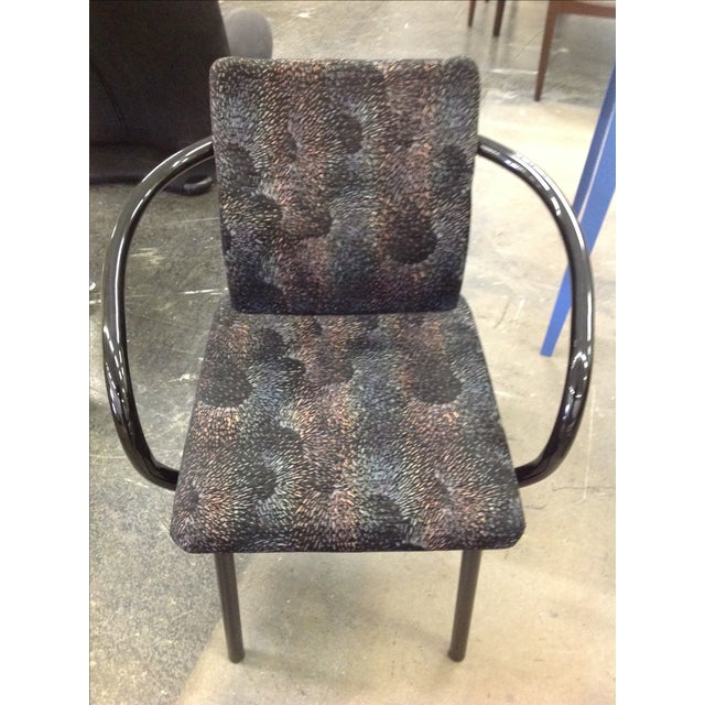 Knoll Ettore Sottsass Mandarin Chairs - A Pair - Image 6 of 9
