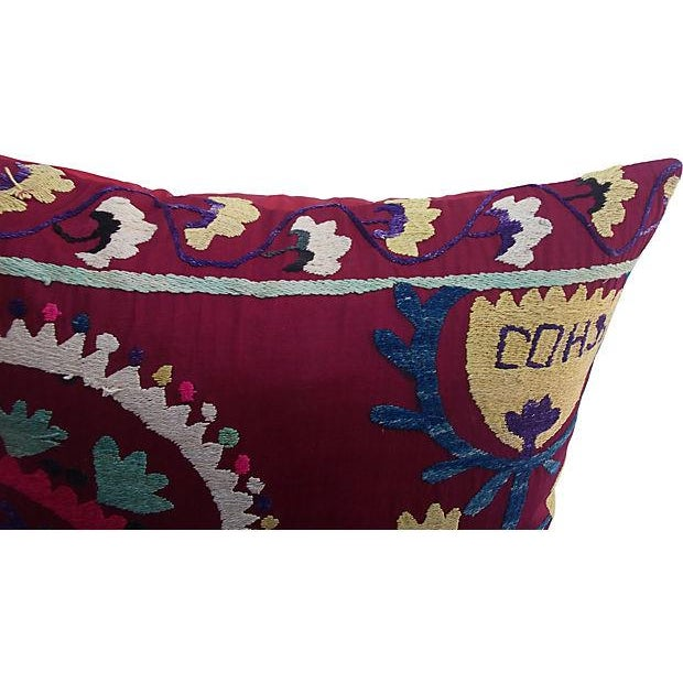 Turkish Suzani Pillow - Image 2 of 5