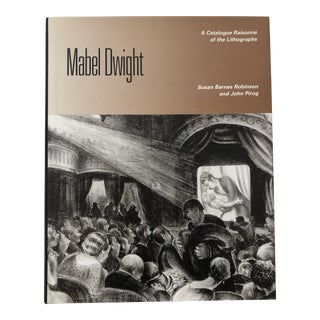 Mabel Dwight Catalogue Raisonne of the Lithographs1997 For Sale