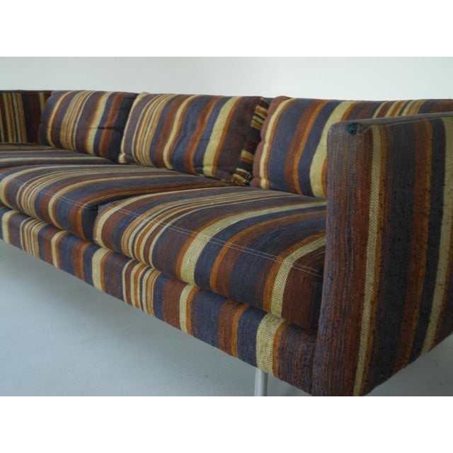 Milo Baughman for Directional Tuxedo Sofa For Sale In Chicago - Image 6 of 9