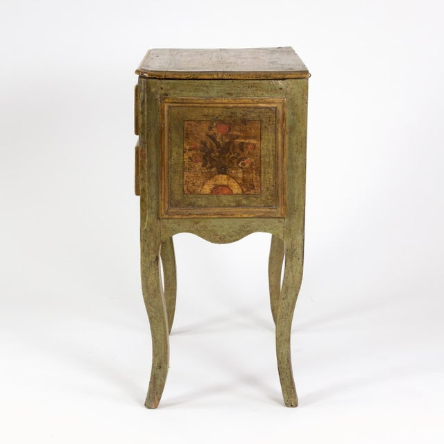 Italian A Painted Italian Commode, Circa 1720. For Sale - Image 3 of 13