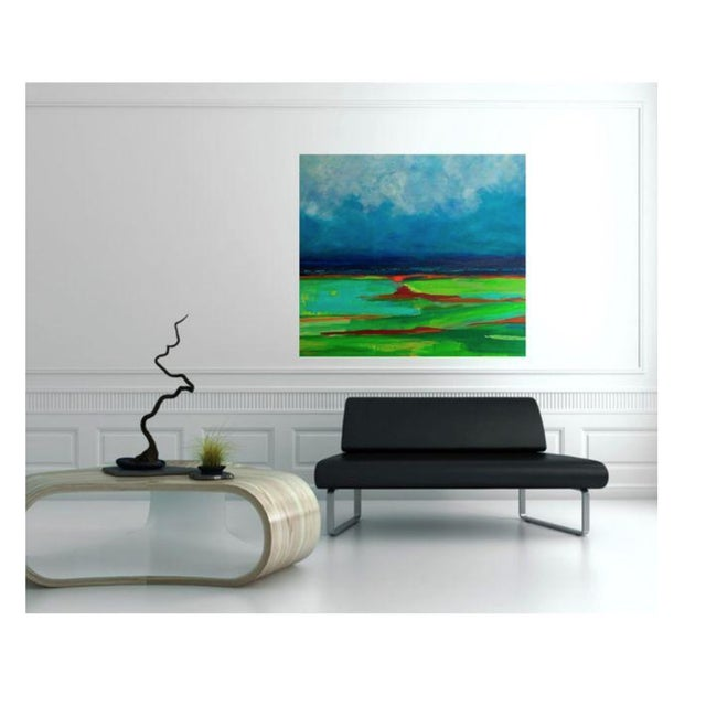 Abstract Landscape Painting by Bryan Boomershine - Image 2 of 4