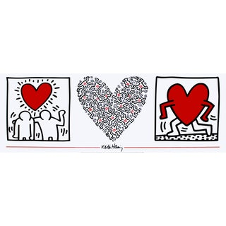 Keith Haring-Untitled (1987)-1989 Poster For Sale