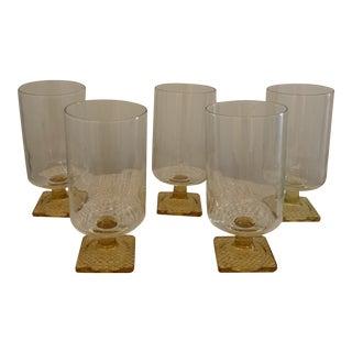 1970s Mid Century Barware - Set of 5 For Sale