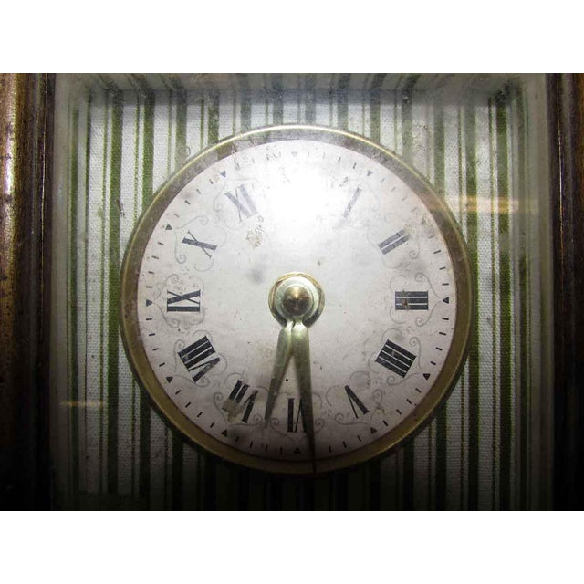 Vintage Square Wall Clock For Sale - Image 4 of 6