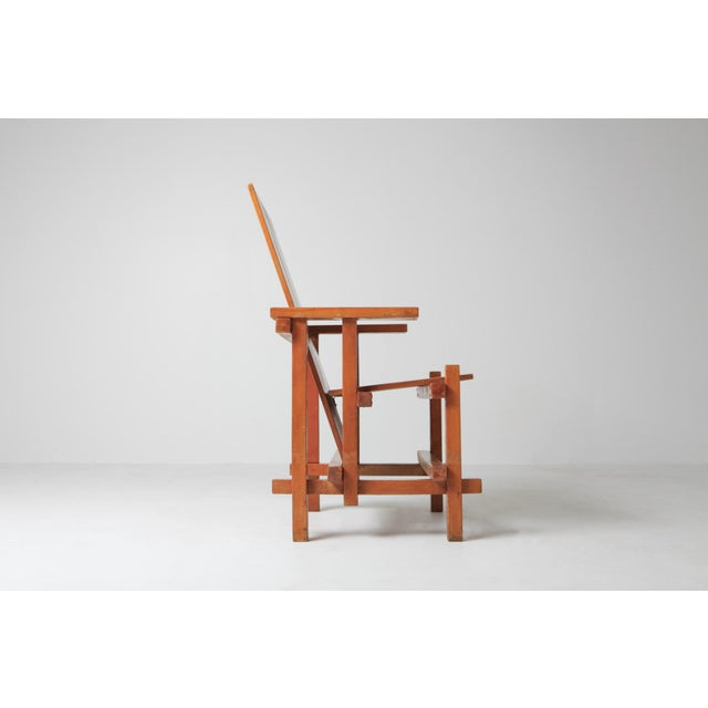 Modern Modernist Armchairs Attributed to Gerrit Rietveld For Sale - Image 3 of 10