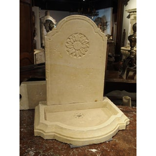 Small Carved Limestone Wall Fountain From Italy Preview