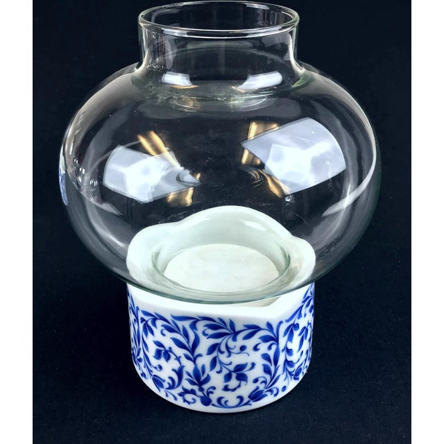 1970s West Germany Candle Holder With Glass Dome - a Pair For Sale - Image 4 of 13