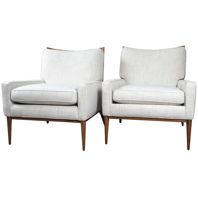 Paul McCobb for Directional Lounge Chairs - a Pair For Sale - Image 9 of 9