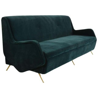 Italian Vintage Midcentury Sofa, 1950s For Sale