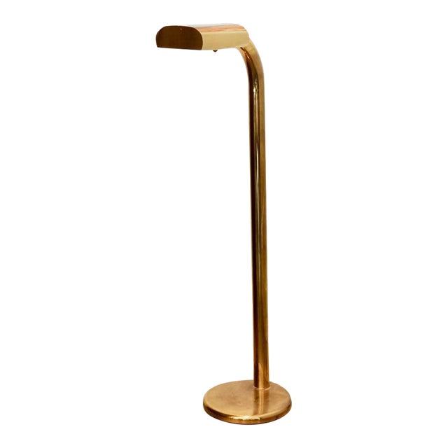 1970s Brass Tube Floor Lamp For Sale