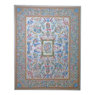 """Pasargad Aubusson Hand Woven Wool Rug - 10' 4"""" X 13' 4"""""""