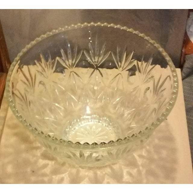 Crystal Punch Bowl - Image 3 of 6