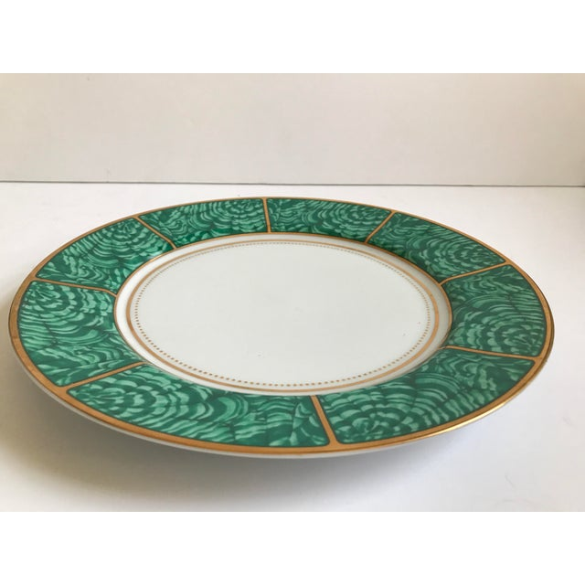 Georges Briard Imperial Malachite Plate - Image 2 of 5