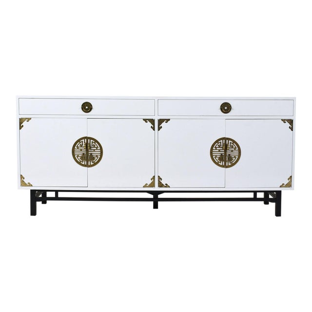 Mid-Century Modern Style Lacquered Credenza For Sale