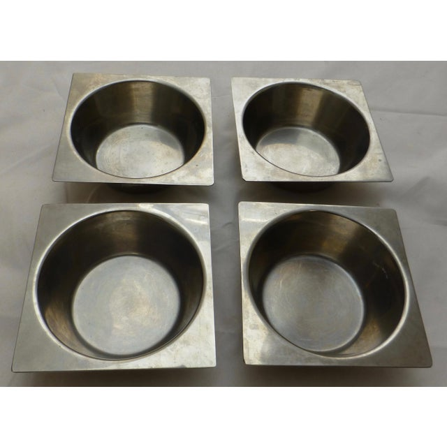 Danish Modern Stainless Steel Bowls - Set of 4 For Sale - Image 9 of 11