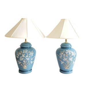 Vintage Hollywood Regency Style Table Lamps-A Pair For Sale