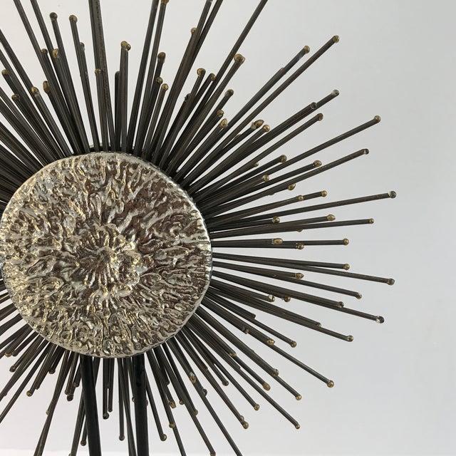 Modern Sunburst Sculpture - Image 3 of 6