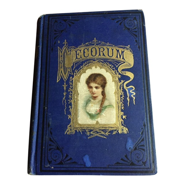 Late 1800s Decorum Treatise On Etiquette And Dress Book For Sale