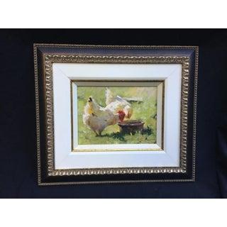 """Leonard Wren """"Spring Chickens"""" Framed Preview"""