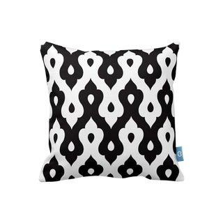 Black & White Geometric Decorative Throw Pillow Cover