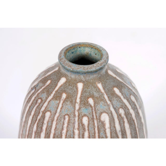 Clyde Burt Clyde Burt Ceramic Vase For Sale - Image 4 of 7