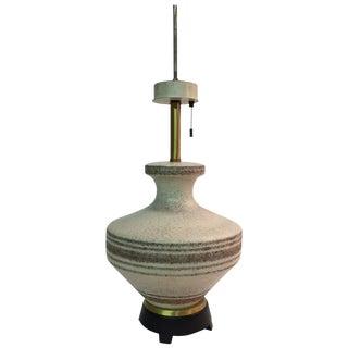 Gerald Thurston for Lightolier Ceramic Table Lamp For Sale
