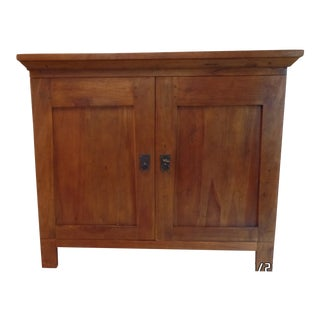 20th Century Arts and Crafts Entertainment Height Server Credenza For Sale