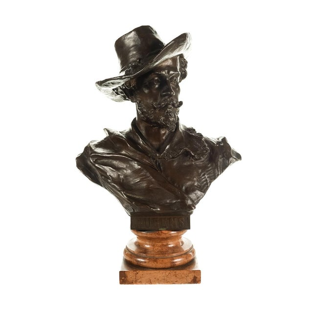 Offered is a signed Rubens Bronze Bust sculpture by H. Muller. This is a beautiful piece that will add to your décor!