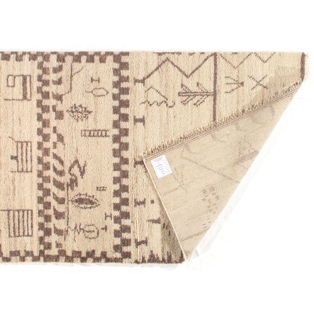 Contemporary Pasargad N Y Moroccan Hand-Knotted Rug - 4' X 6′ For Sale - Image 3 of 5