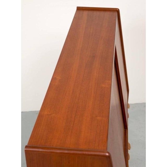 Poul Volther Tall Teak Cabinet - Image 8 of 10