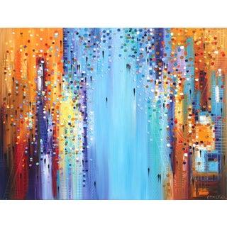 """Colors of Life"" Original Artwork by Ekaterina Ermilkina For Sale"