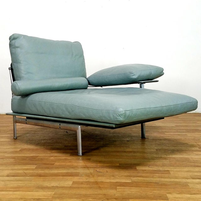 Paolo Nava for B&B Italia Diesis Beige Leather Chaise For Sale In Los Angeles - Image 6 of 13