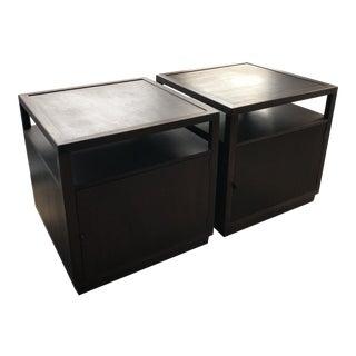 Dunbar Mid-Century Modern Side Tables - A Pair For Sale