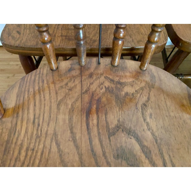 Metal Antique Bow Back Windsor Chairs - Set of 10 For Sale - Image 7 of 12