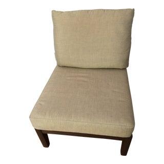 Sunbrella Fabric Brown Jordan Lounge Chair For Sale