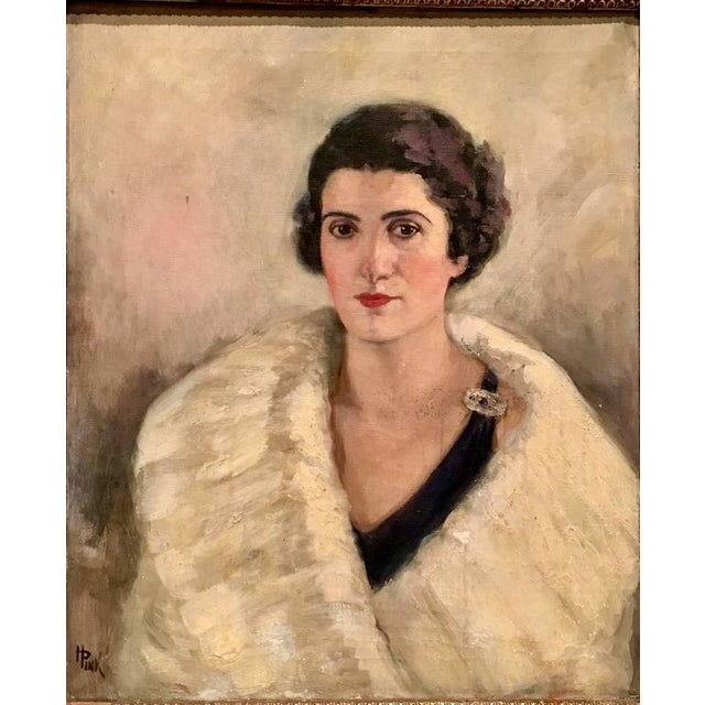 Early 20th century Original Oil On Canvas Painting- signed and untitled. This spectacular piece of art has amazing use of...