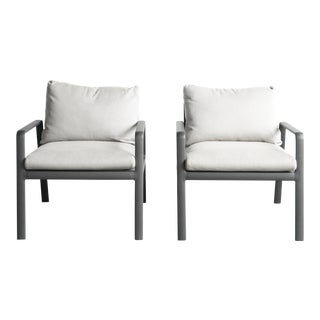 Kettal Club Armchairs - a Pair For Sale